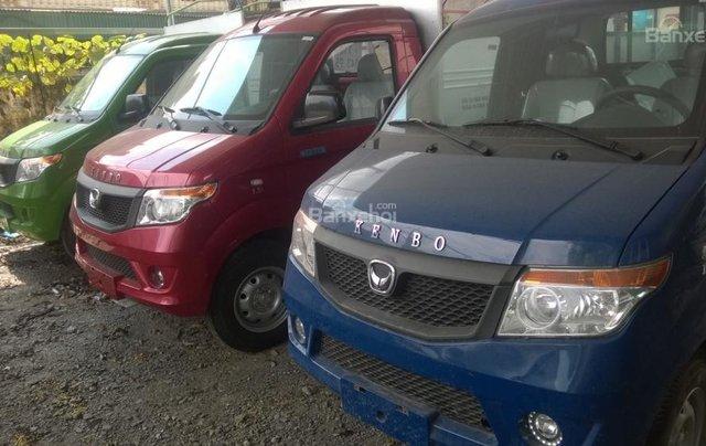 Bắc Ninh, bán xe tải Kenbo 990kg năm sản xuất 2018, màu đỏ0