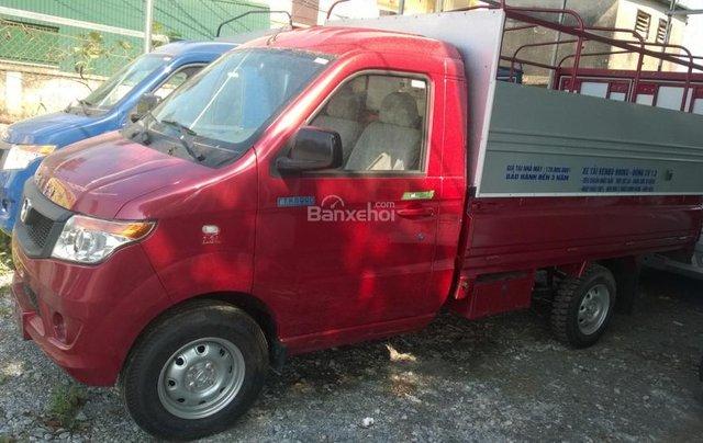 Bắc Ninh, bán xe tải Kenbo 990kg năm sản xuất 2018, màu đỏ1