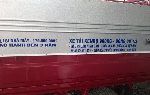 Bắc Ninh, bán xe tải Kenbo 990kg năm sản xuất 2018, màu đỏ2