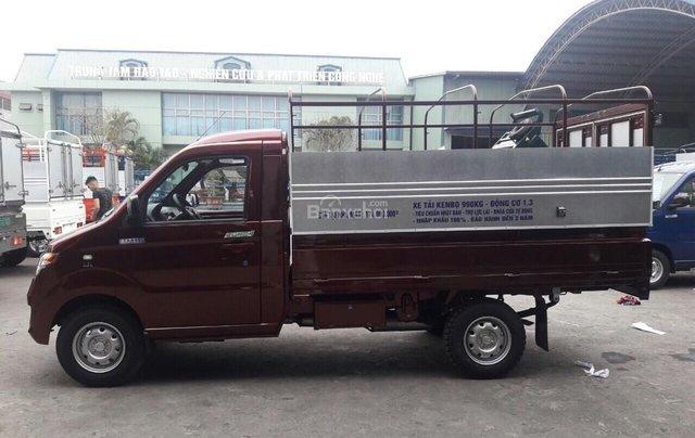 Bắc Ninh, bán xe tải Kenbo 990kg năm sản xuất 2018, màu đỏ3