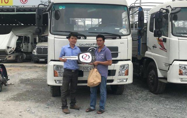 Bán tải Thùng DongFeng Hoàng Huy 4 chân Yuchai 310 HP giá ưu đãi2