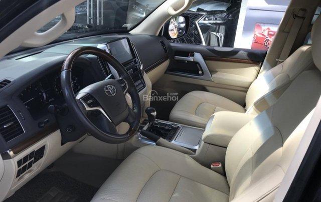 Bán ô tô Toyota Land Cruiser V8 4.6 đời 2016, màu đen, nhập khẩu nguyên chiếc6