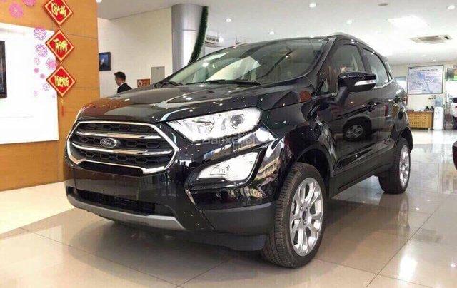 Bán Ford EcoSport 1.5 năm 2019, màu đen0