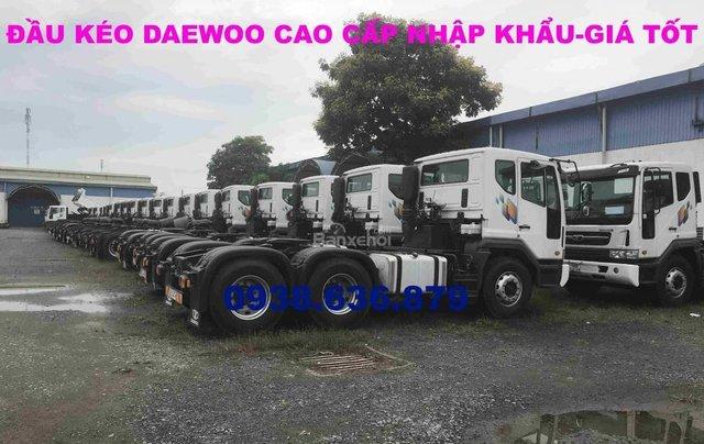 Đầu kéo Daewoo nhập khẩu nguyên chiếc - giá tốt nhất - xe giao ngay1