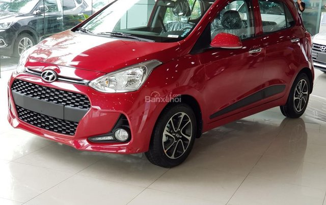 Hyundai Hà Đông Hà Nội mua xe Hyundai Grand i10-trọn gói chỉ với 100tr TG mỗi tháng trả 5,858k, LH 09814767770