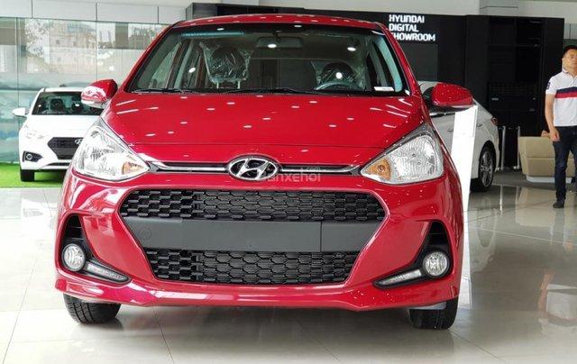 Hyundai Hà Đông Hà Nội mua xe Hyundai Grand i10-trọn gói chỉ với 100tr TG mỗi tháng trả 5,858k, LH 098147677711