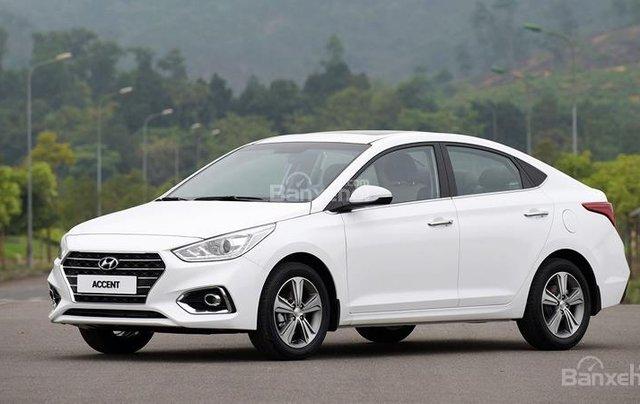 Bán Hyundai Accent 1.4 AT sản xuất 2019, sẵn xe giao ngay KM 15 triệu - Liên hệ: 09199299230