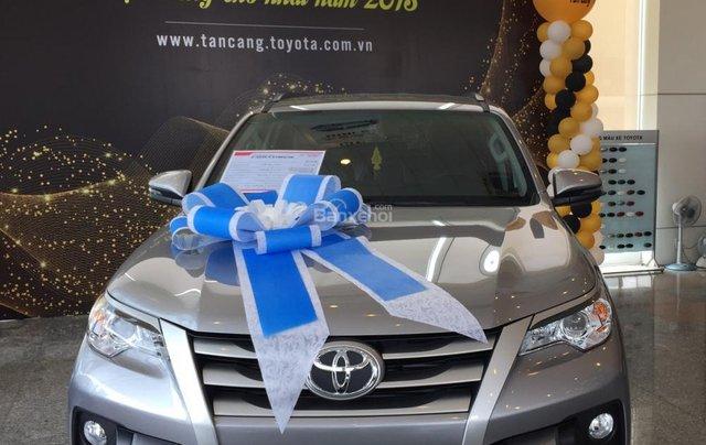 Toyota Tân Cảng bán Fortuner máy dầu số sàn 2020- Mừng Tết Canh Tý bán giá hợp lý-xe giao trước Tết-LH 09019233990