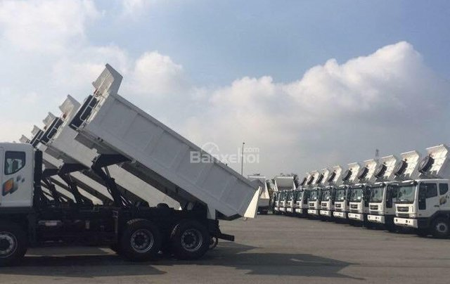 Bán xe Ben 15 tấn Daewoo ga cơ nhập khẩu - giá tốt nhất - xe giao ngay2