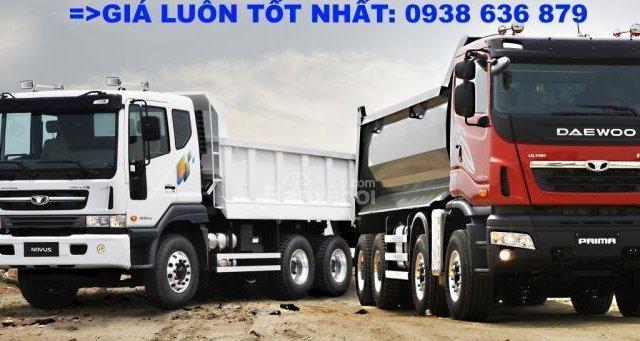 Bán xe Ben 15 tấn Daewoo ga cơ nhập khẩu - giá tốt nhất - xe giao ngay7