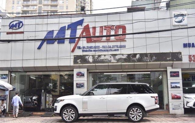 Bán LandRover Range Rover Autobio LWB đời 2018, màu trắng, nhập khẩu nguyên chiếc Mỹ giá tốt10