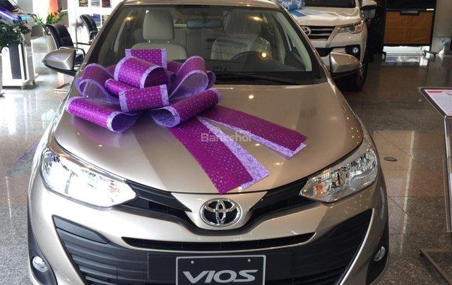 Toyota Tân Cảng bán Vios 2019 giá tốt - Xe đủ màu giao ngay -Trả góp đưa trước 150 triệu, LS 0.3% tháng. LH 09019233990