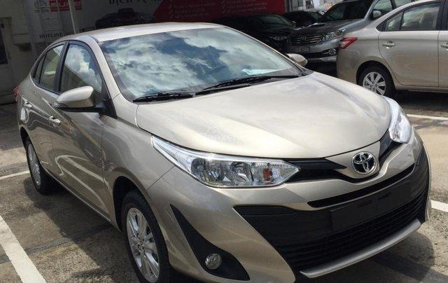 Toyota Tân Cảng bán Vios 2019 giá tốt - Xe đủ màu giao ngay -Trả góp đưa trước 150 triệu, LS 0.3% tháng. LH 09019233991