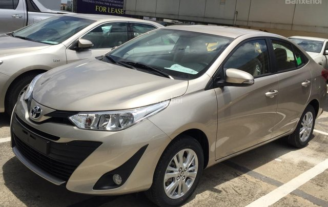 Toyota Tân Cảng bán Vios 2019 giá tốt - Xe đủ màu giao ngay -Trả góp đưa trước 150 triệu, LS 0.3% tháng. LH 09019233992