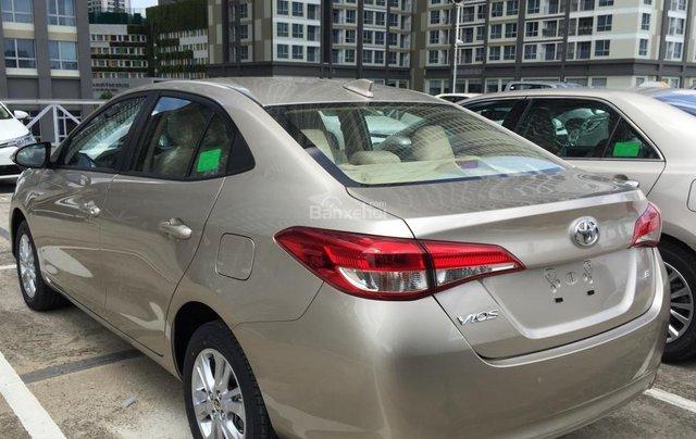 Toyota Tân Cảng bán Vios 2019 giá tốt - Xe đủ màu giao ngay -Trả góp đưa trước 150 triệu, LS 0.3% tháng. LH 09019233994