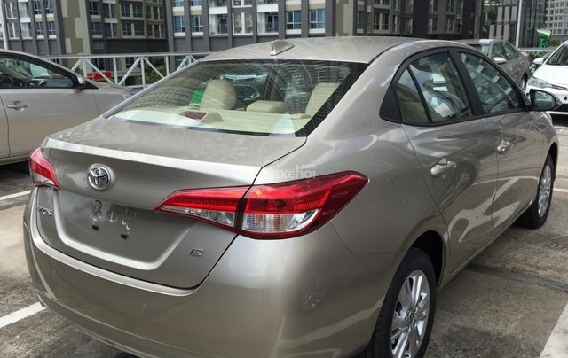 Toyota Tân Cảng bán Vios 2019 giá tốt - Xe đủ màu giao ngay -Trả góp đưa trước 150 triệu, LS 0.3% tháng. LH 09019233995