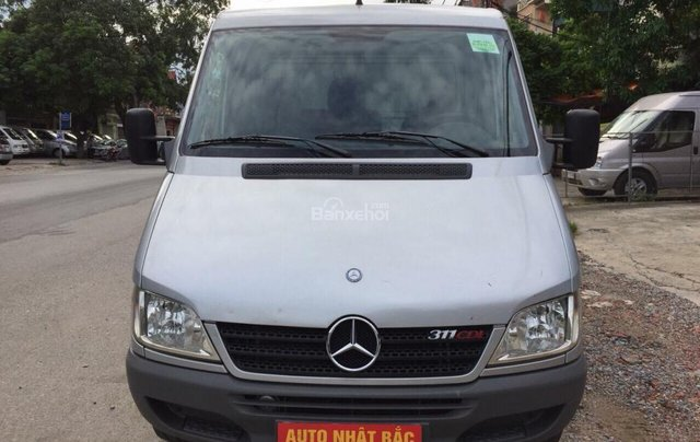 Bán xe tải Van 3 chỗ, đời 2009, tải trọng được phép chở 1530kg, hiệu Mercedes Sprinter0