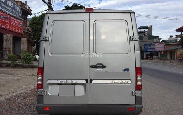 Bán xe tải Van 3 chỗ, đời 2009, tải trọng được phép chở 1530kg, hiệu Mercedes Sprinter2