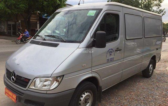 Bán xe tải Van 3 chỗ, đời 2009, tải trọng được phép trở 1530 kg, hiệu Mec Sprinter4