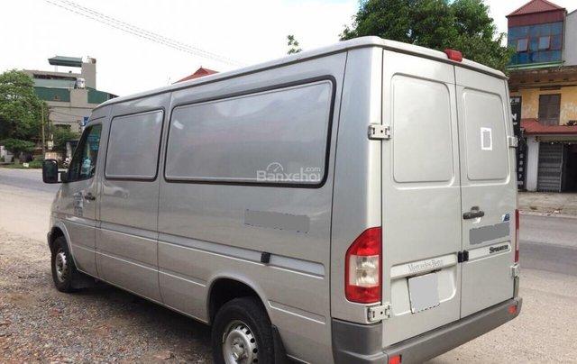 Bán xe tải Van 3 chỗ, đời 2009, tải trọng được phép chở 1530kg, hiệu Mercedes Sprinter5