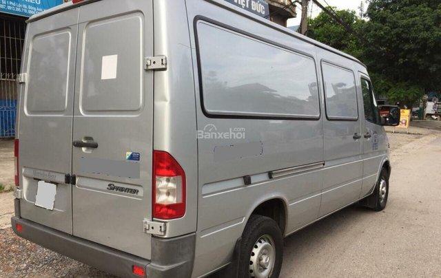 Bán xe tải Van 3 chỗ, đời 2009, tải trọng được phép chở 1530kg, hiệu Mercedes Sprinter6