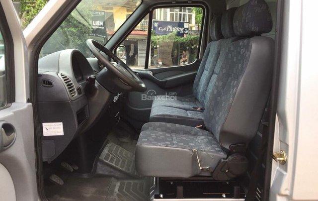 Bán xe tải Van 3 chỗ, đời 2009, tải trọng được phép trở 1530 kg, hiệu Mec Sprinter10