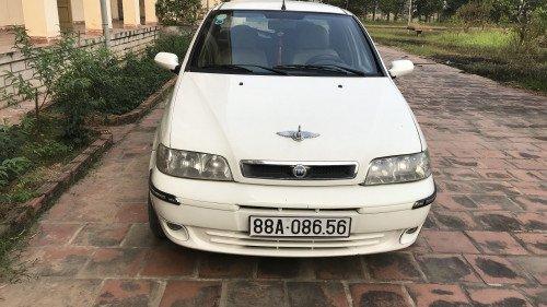 Cần bán Fiat Albea 1.3 MT đời 2007, màu trắng chính chủ  0