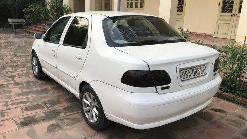 Cần bán Fiat Albea 1.3 MT đời 2007, màu trắng chính chủ  11
