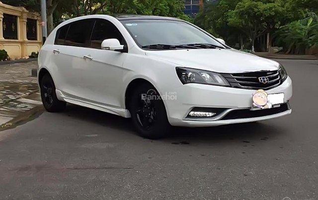 Cần bán xe Geely Emgrand năm sản xuất 2015, màu trắng, nhập khẩu xe gia đình0