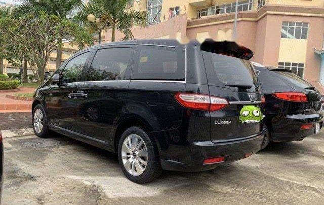 Cần bán gấp Luxgen 7 MPV đời 2014, màu đen, xe nhập1