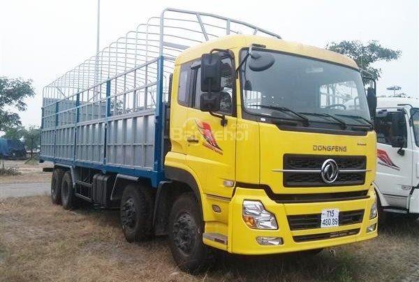 Dongfeng 4 chân Hoàng Huy L315, giá cạnh tranh trả trước 20%, bảo hành0