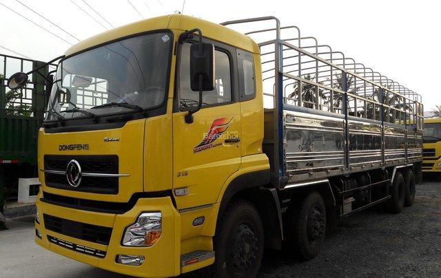 Dongfeng 4 chân Hoàng Huy L315, giá cạnh tranh trả trước 20%, bảo hành2
