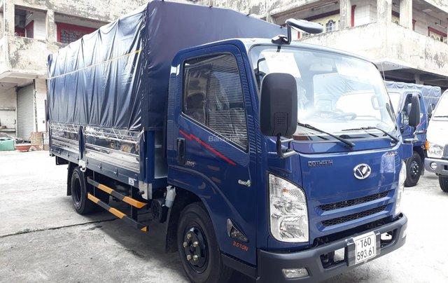 Xe tải Đô Thành IZ65 tải 1.9 tấn đến 3.5 tấn, khuyến mãi 100% thuế trước bạ, hỗ trợ trả góp, giao xe ngay1