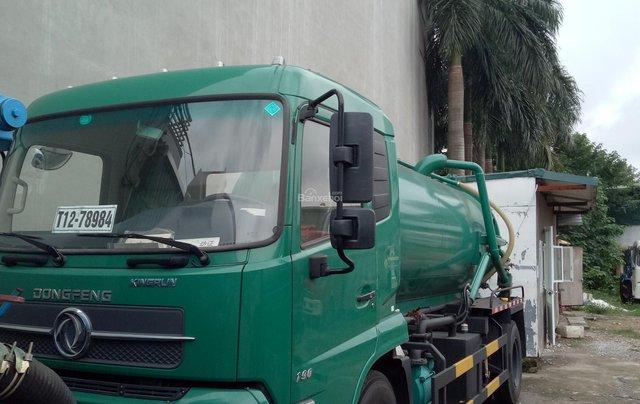 Bán xe hút chất thải 9 khối, màu xanh0