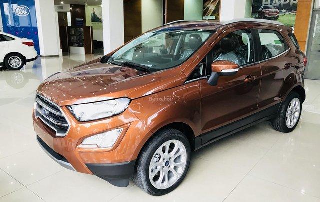 Cần bán nhanh Ford Ecosport 1.5L Titanium AT đời 2019, màu nâu vàng4