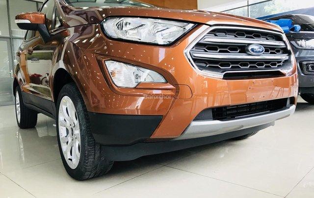 Cần bán nhanh Ford Ecosport 1.5L Titanium AT đời 2019, màu nâu vàng5