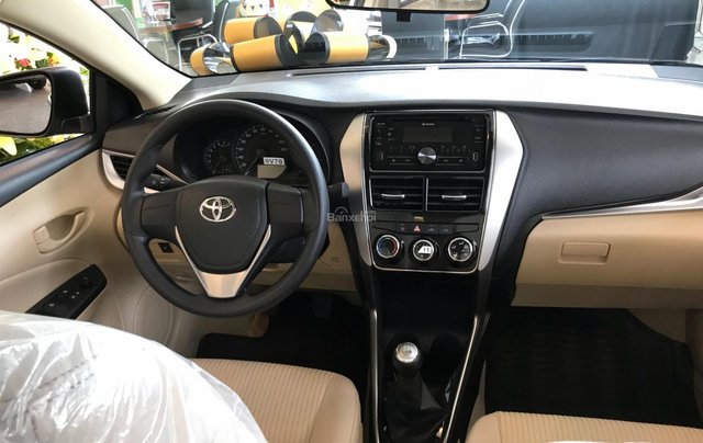 Toyota Tân Cảng - Vios 1.5 số sàn - Trả trước 140tr nhận xe ngay - đủ màu giao ngay - 09330006005