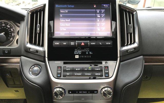 Bán Toyota Land Cruiser V8 5.7 AT đời 2016, màu đen, nhập khẩu Mỹ LH: 0982.84.28387