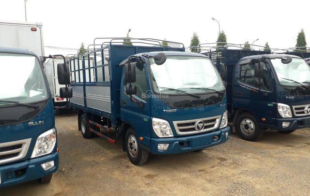 Bán xe tải Ollin500. E4 Trường Hải tải trọng 5 tấn ở Hà Nội5