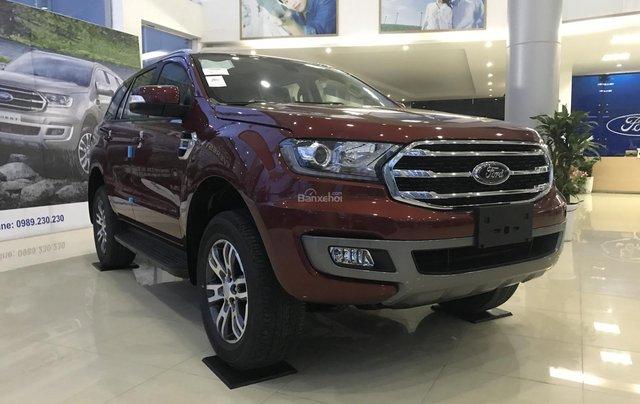 Cần bán xe Ford Everest Trend đời 2018, nhập khẩu nguyên chiếc - LH 099022295 tại Bắc Kạn1