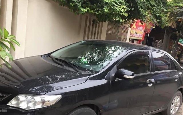 Cần bán xe Toyota Corolla altis đời 2011, màu đen, giá tốt0