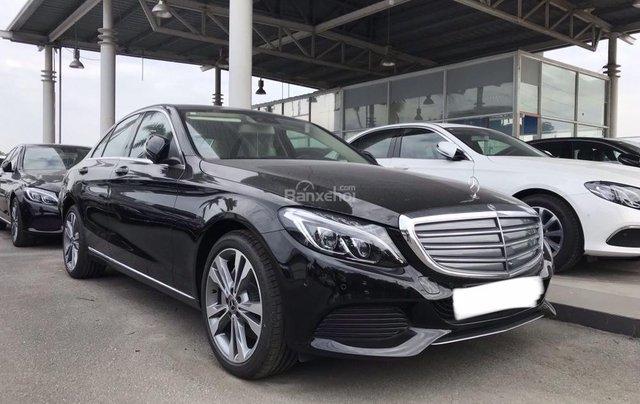 Bán Mercedes C250 năm sản xuất 2017, màu đen như mới0