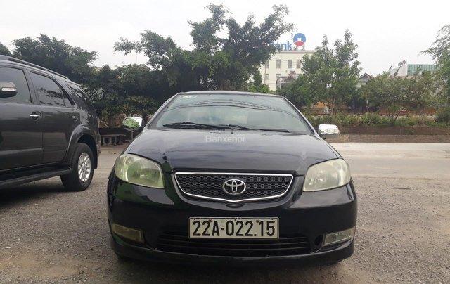 Bán Toyota Vios 2006 màu đen, Sedan, 5 chỗ, giá rẻ1