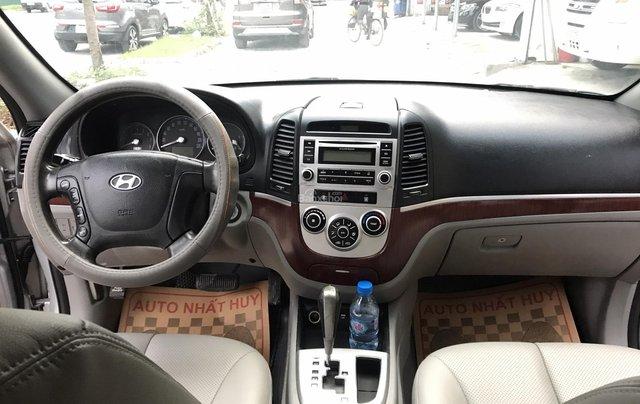 Bán Hyundai Santa Fe 2.7AT đời 2007, màu bạc, nhập khẩu4