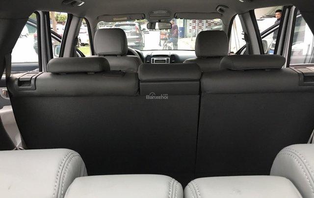 Bán Hyundai Santa Fe 2.7AT đời 2007, màu bạc, nhập khẩu6