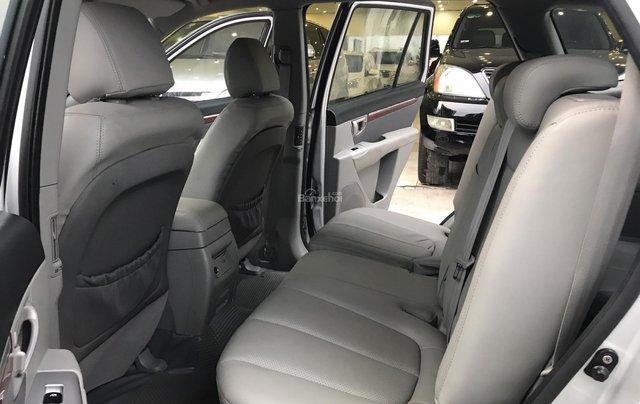 Bán Hyundai Santa Fe 2.7AT đời 2007, màu bạc, nhập khẩu7