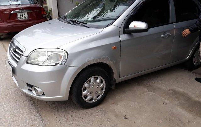Bán Daewoo Gentra cũ đời 2007 màu bạc, giá tốt, xe chất0