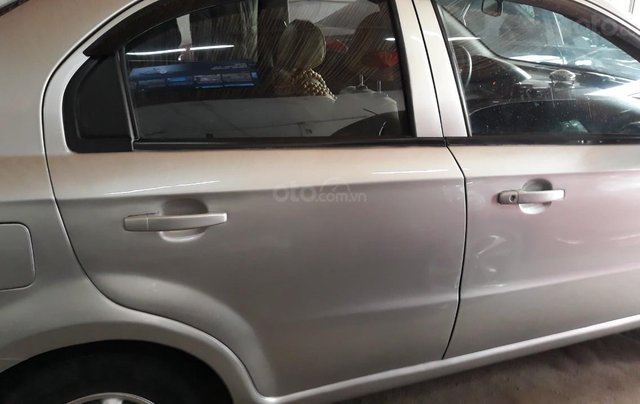 Bán Daewoo Gentra cũ đời 2007 màu bạc, giá tốt, xe chất1