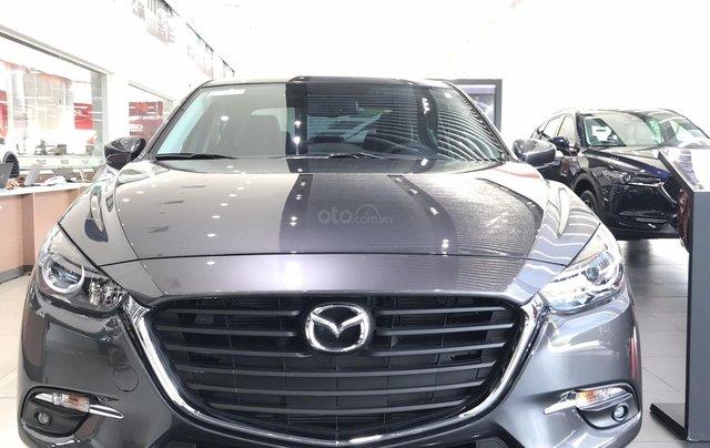 Mazda 3 1.5, màu xám lông chuột 46G, có xe giao ngay tại Mazda Bình Triệu0