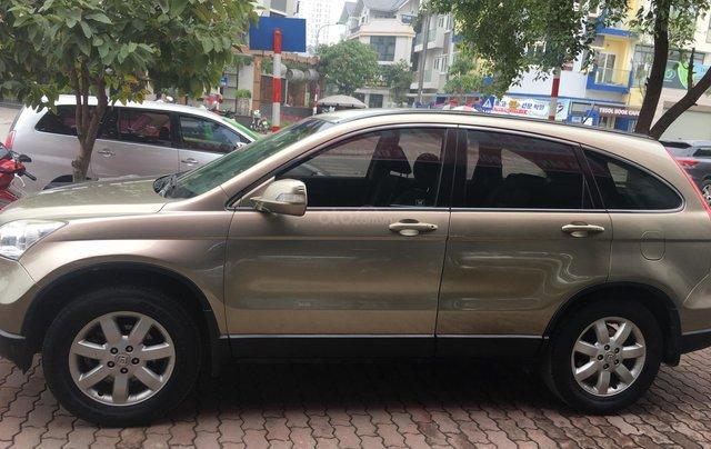 Bán ô tô Honda CR V 2.4 2009, màu vàng, giá chỉ 480 triệu4